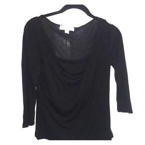 Black Michael Kors shirt